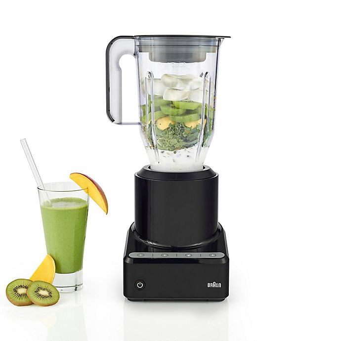Alternate image 1 for Braun PureMix 56 oz. Power Blender with Plastic Jug in Black