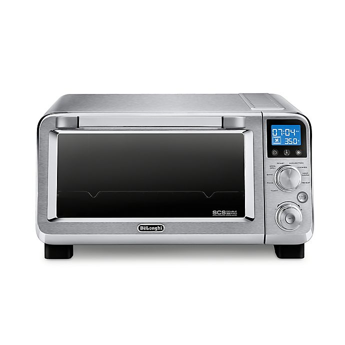 Alternate image 1 for De'Longhi Livenza Compact Stainless Steel Convection Oven