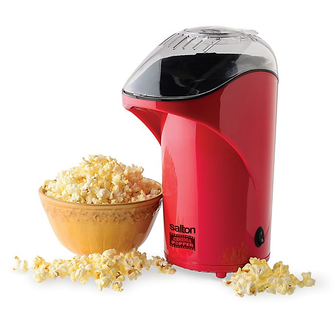 Alternate image 1 for Salton Popcorn Popper in Red