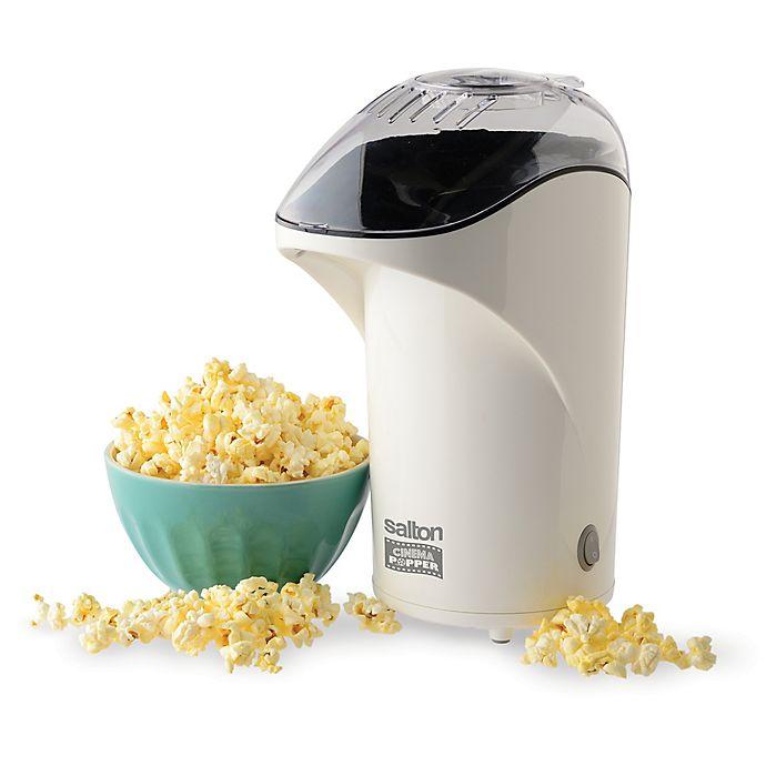 Alternate image 1 for Salton Popcorn Popper in White