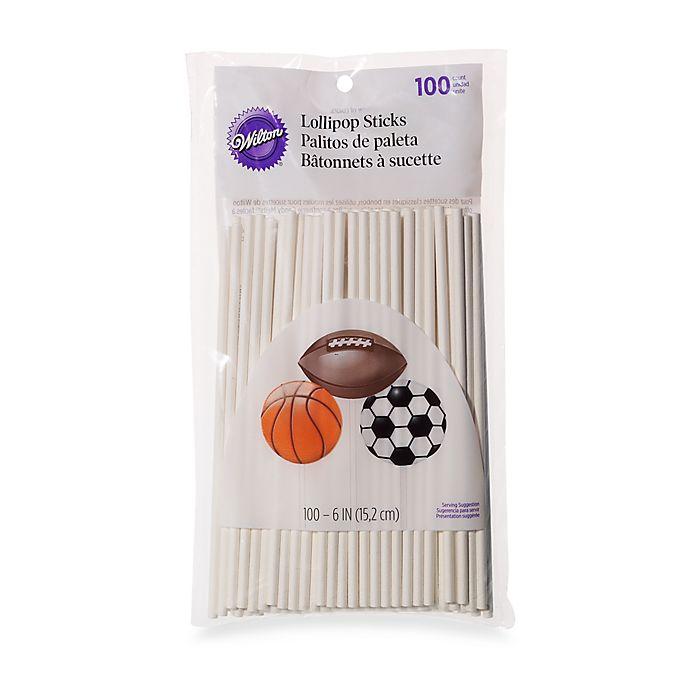 c36a1111337 Wilton® 100-Count 6-Inch Lollipop Sticks | Bed Bath & Beyond