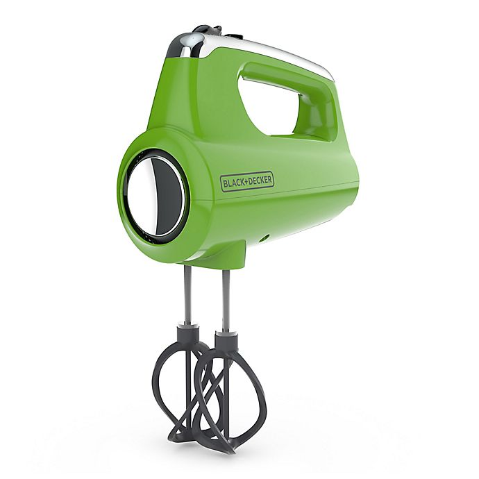 Alternate image 1 for Black & Decker™ Helix Performance Premium Hand Mixer in Lime