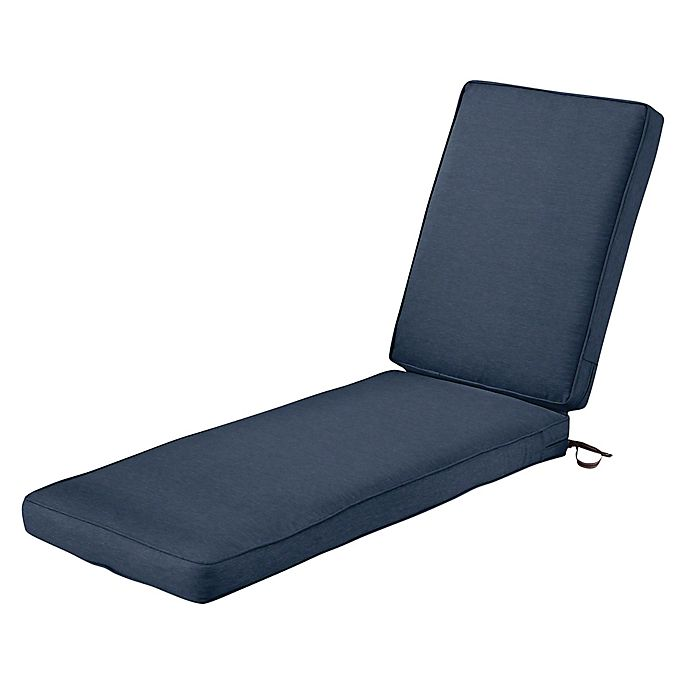 Alternate image 1 for Classic Accessories® Montlake™ Fadesafe Patio Chaise Lounge Cushion