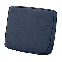 Classic Accessories® Montlake™ Fadesafe 21-Inch Patio Lounge Back Cushion in Indigo