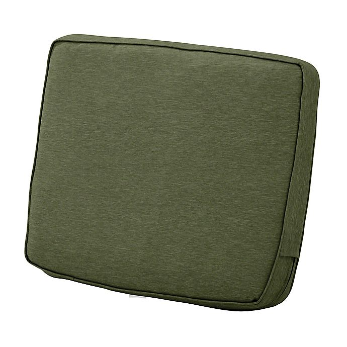 Alternate image 1 for Classic Accessories® Montlake™ Fadesafe 21-Inch Patio Lounge Back Cushion in Fern