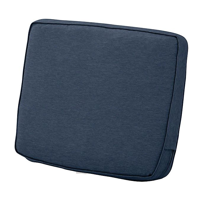 Alternate image 1 for Classic Accessories® Montlake™ Fadesafe 19-Inch Patio Lounge Back Cushion in Indigo