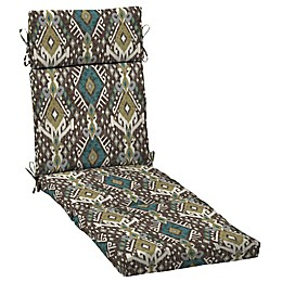 Selections By Arden Tenganan Outdoor Chaise Cushion in Brown
