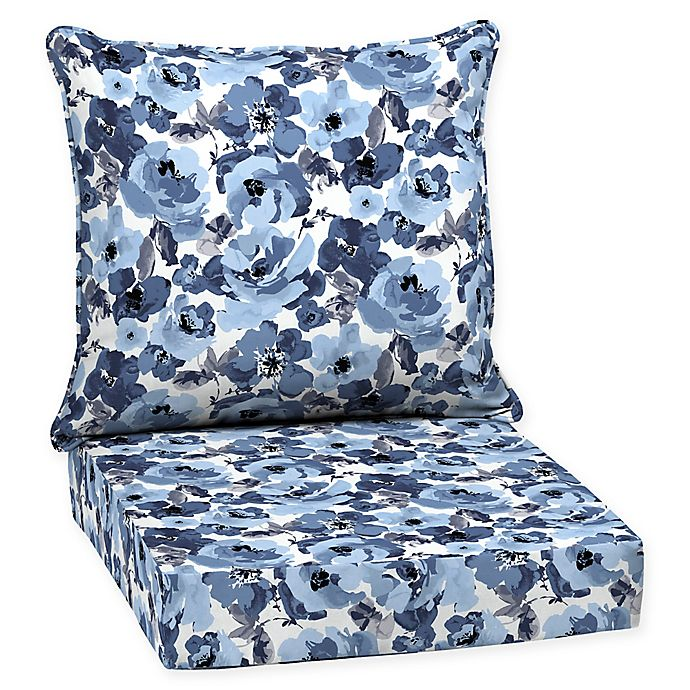 Selections By Arden Garden Delight Deep Seat Outdoor Chair Cushion