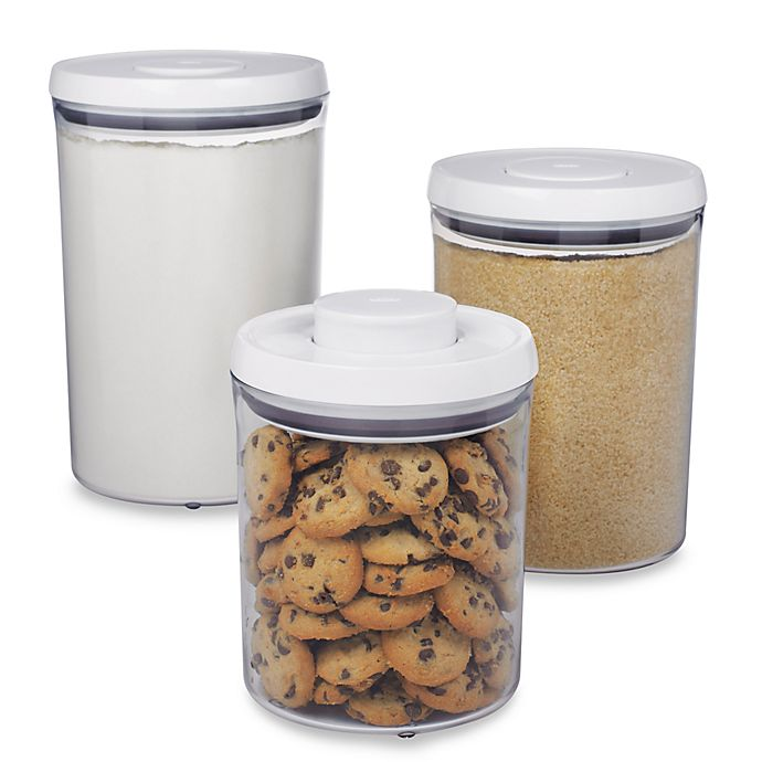 Alternate image 1 for OXO Good Grips® 3-Piece POP Canister Set