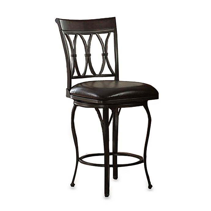 24 Inch Bedford Swivel Bar Stool Bed Bath And Beyond Canada