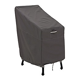 Classic Accessories® Ravenna® Patio Bar Chair & Stool Cover in Dark Taupe