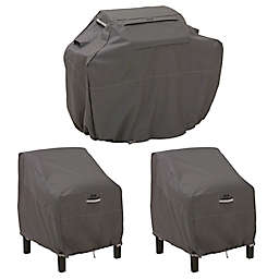 Classic Accessories® Ravenna® Grill and Patio Lounge Chair Cover Set in Dark Taupe