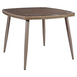 Madison Park Gwen Outdoor Dining Table in Grey