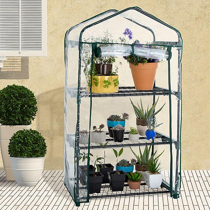 Alternate image 1 for Pure Garden Portable Mini Greenhouse