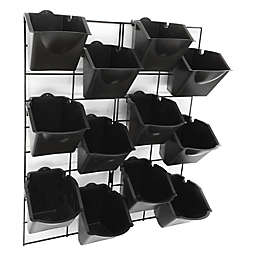 Stratco Vertical Wall Garden in Black