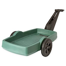 Easy Haul Flat Bed Cart in Green/Black