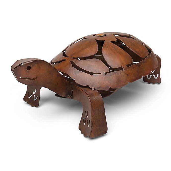 Alternate image 1 for Yeiser Rustic Turtle Sprinkler in Brass