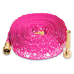 Yeiser 50' HydroHose with Adjustable Brass Nozzle