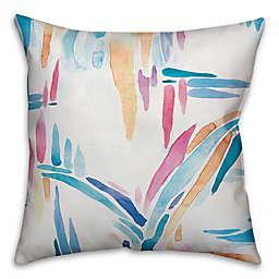 Designs Direct Brush Stroke Indoor/Outdoor Square Throw Pillow