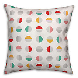 Designs Direct Circle Indoor/Outdoor Square Throw PIllow