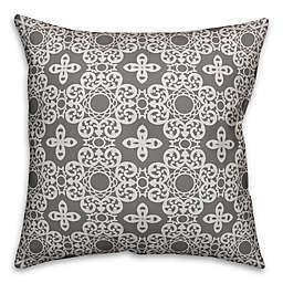 Designs Direct Kaleidoscope Indoor/Outdoor Square Throw Pillow