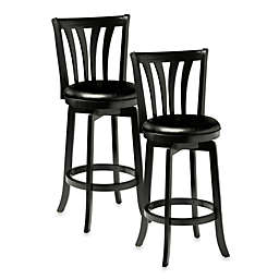 Hillsdale Savana Swivel Stool in Black