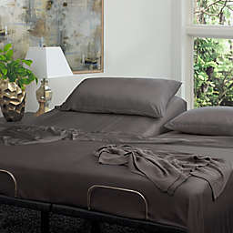 Cariloha Reg Resort Viscose Made From Bamboo Split King Sheet Set