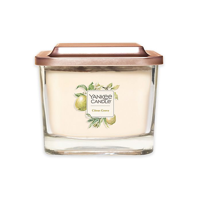 Alternate image 1 for Yankee Candle® Elevation Collection Citrus Grove Medium 3-Wick Candle