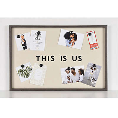 This Is Us Magnetic Collage Board