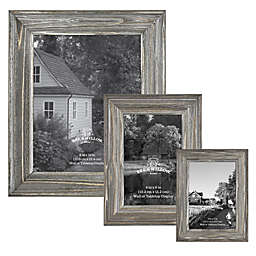 Bee & Willow™ Home Wood Frame in Aged Silver