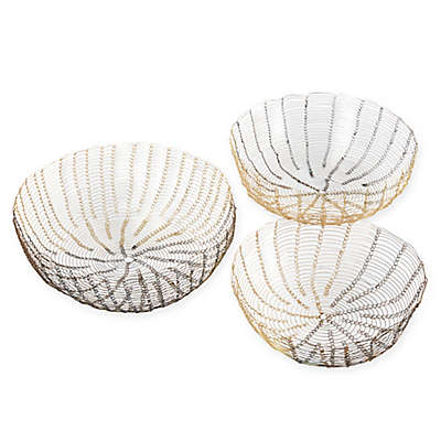 Madison Park 3-Piece Lawton Baskets