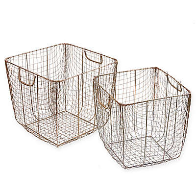 Madison Park 2-Piece Moraga Baskets