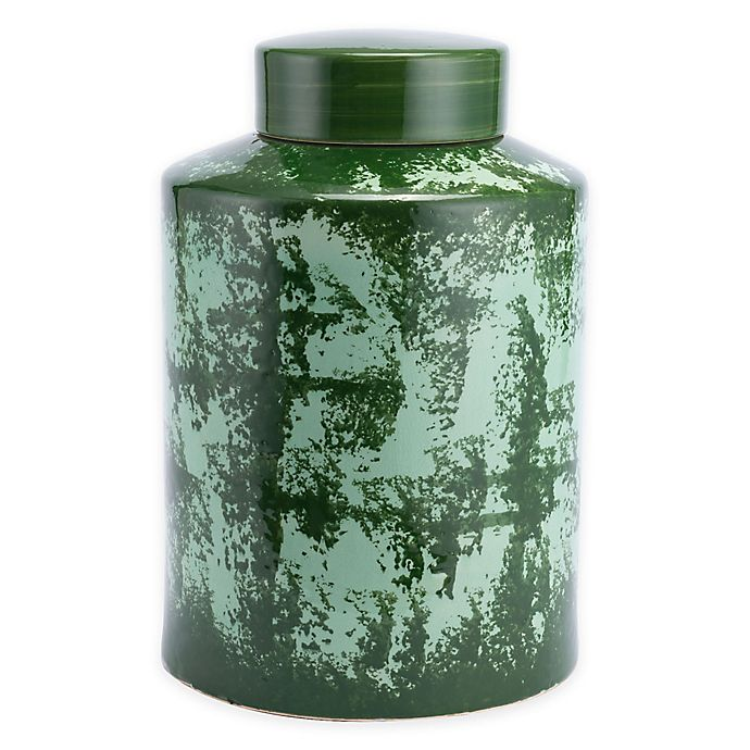 Alternate image 1 for Zuo® Modern Anguri Large Temple Jar in Green