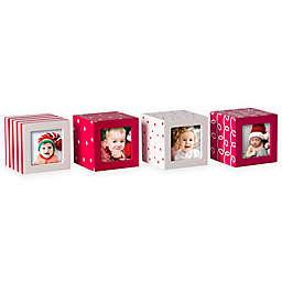 Pearhead Holiday Photo Blocks (Set of 4)