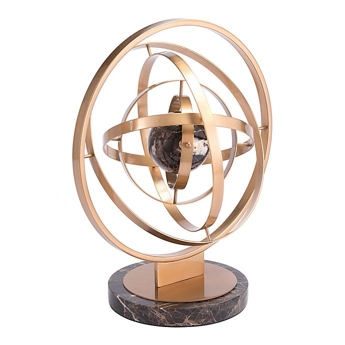 Alternate image 1 for Zuo® Iron Atom Sculpture
