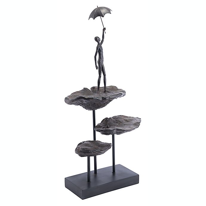 Alternate image 1 for Zuo® Flying Figurine in Bronze