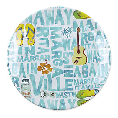 Margaritaville® Icon Salad Plate in White