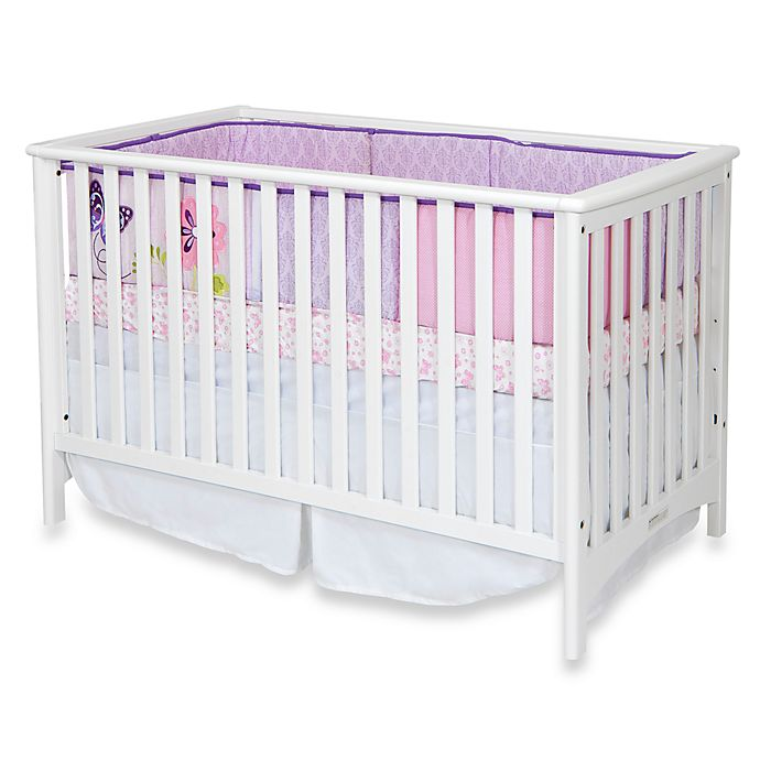Alternate image 1 for Child Craft™ London 3-in-1 Euro Style Convertible Crib in Matte White