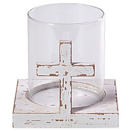 Precious Moments® Cross Pillar Candle Holder