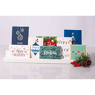 Pearhead® Holiday Card and Photo Stands (Set of 2)