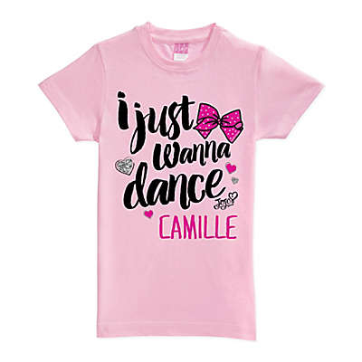 JoJo Siwa™ I Just Wanna Dance Short Sleeve T-Shirt in Pink