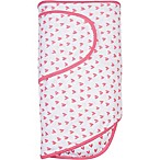 Miracle Blanket® Hearts Swaddle Blanket in Coral