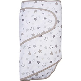 Miracle Blanket® Stars Swaddle Blanket in Grey
