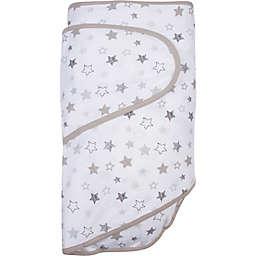 Miracle Blanket® Stars Swaddle Blanket in Grey