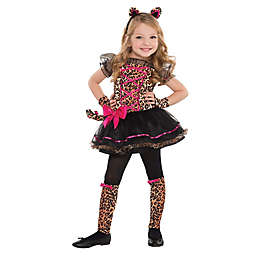 Size 3-4T Precious Leopard Toddler Halloween Costume