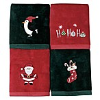 Holiday Brights Fingertip Towels (Set of 4)