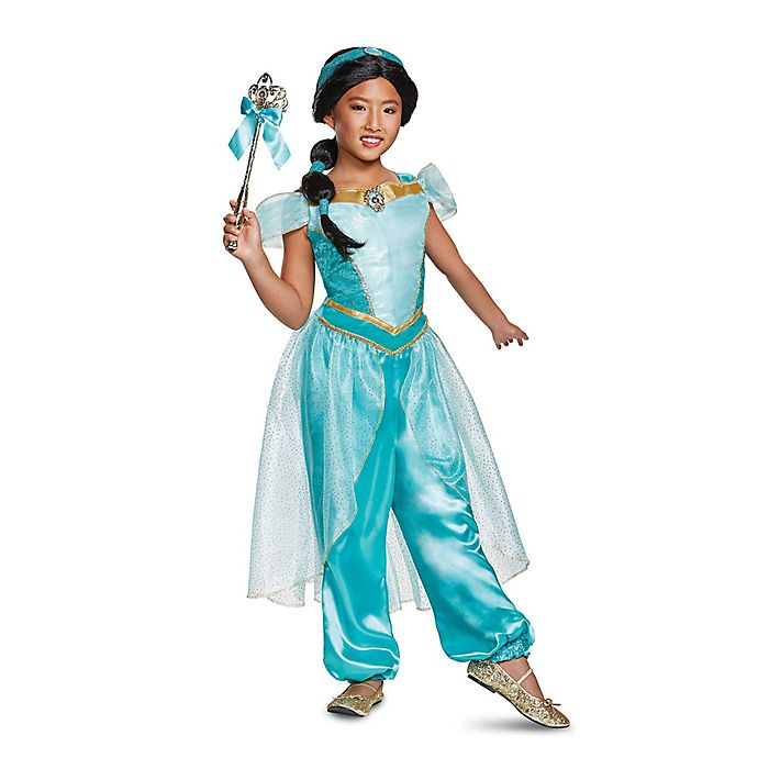 size 3 4t aladdin princess jasmine deluxe toddler halloween costume