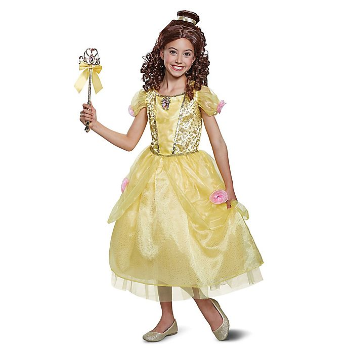 Alternate image 1 for Disney® Beauty & the Beast Size 3-4T Deluxe Belle Toddler Halloween Costume