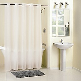 Hookless® Frosty Shower Curtain in White