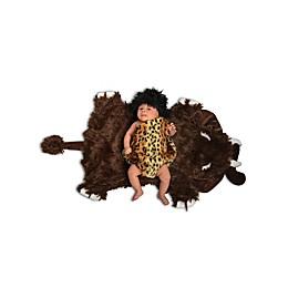 Size 0-3M Swaddle Caveman Baby Halloween Costume
